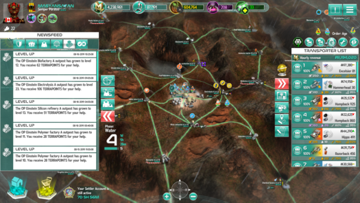 Screenshot (newsfeed And Transporters Phase 4)<br>